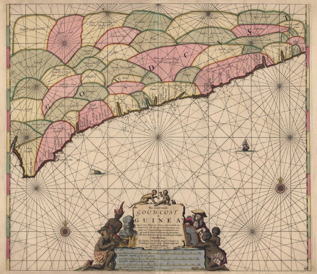 Zeekaart-kust-Guinea,-ZA-Beeld&Geluid-1000br