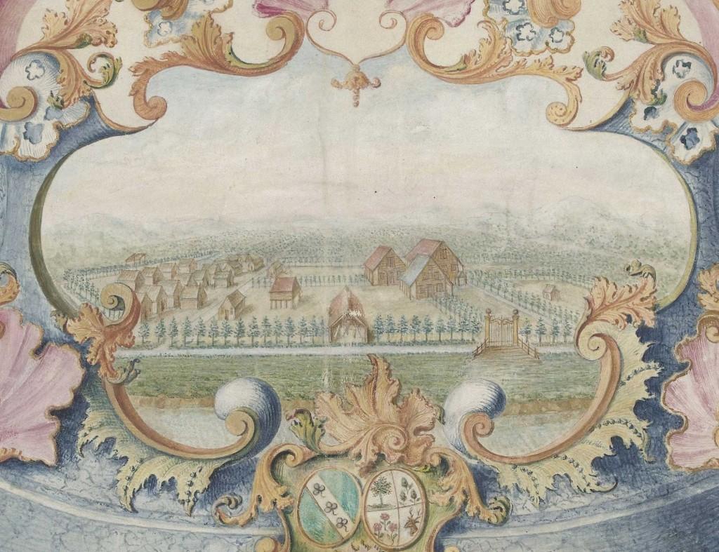 cartouche-detail-met-West-Indische-plantage-Rijksmuseum-RP-T-1969-6