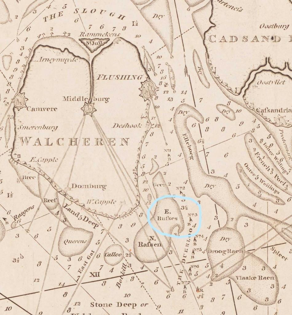 zandbanken-Westerschelde-1814-uitsnede-ZI-I-0191