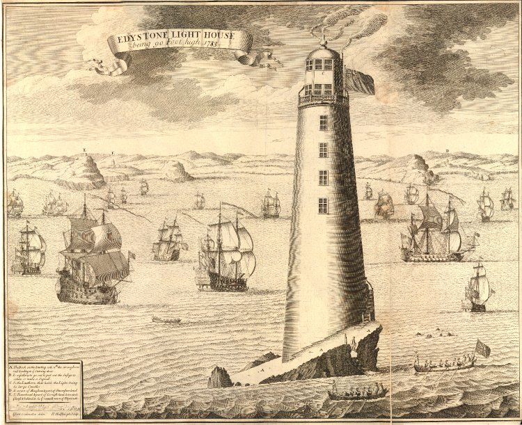 Edystone Lighthouse British Museum