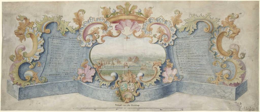 cartouche-met-West-Indische-plantage-Rijksmuseum-RP-T-1969-6
